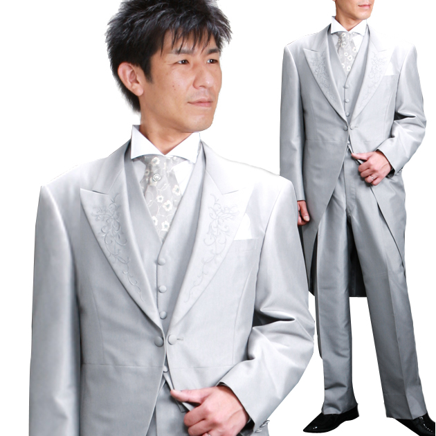 タキシード レンタル 【チャペルモーニング レンタル】新郎 結婚式 nt016
