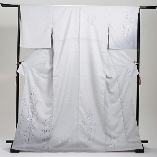 訪問着 レンタル 袷 10月〜5月[〜165cm] お茶会 卒業式 入学式 着物 houmongi114