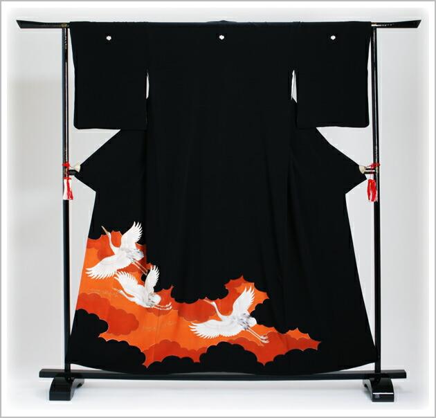 黒留袖 レンタル [小柄な方:〜153cm] 留袖 レンタル 着物 留め袖 NT-S306