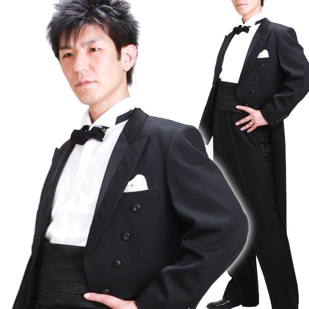 タキシード レンタル 【スタンダードエンビ レンタル】新郎 結婚式 nt031