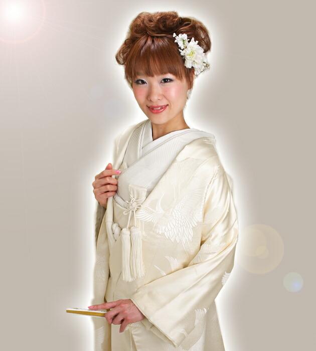 白無垢 レンタル タタキ入り鶴 NT-604
