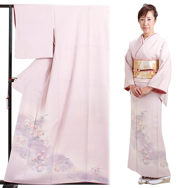 訪問着 レンタル 袷 10月〜5月[〜160cm] お茶会 卒業式 入学式 着物 houmongi19