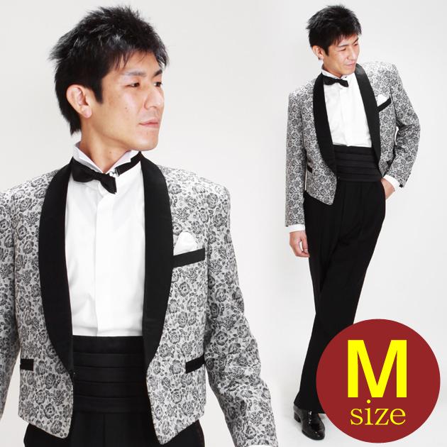 【スペンサー タキシード レンタル】M・Lサイズ/165cm〜172cm/グレー パーティ 演奏会 1033