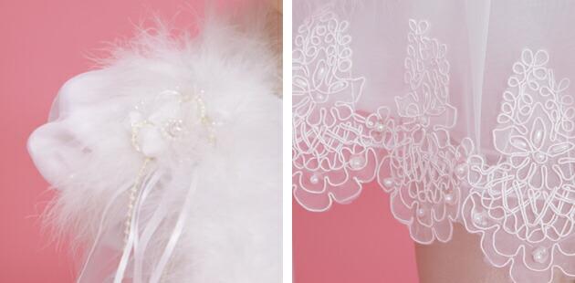 子供 ドレス レンタル 1〜2才 ホワイト 半袖 el-2026
