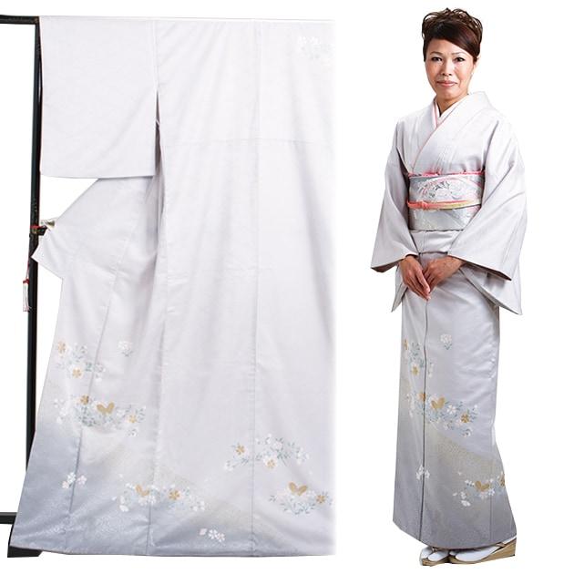 訪問着 レンタル 袷 10月〜5月[〜165cm] お茶会 卒業式 入学式 着物 houmongi116