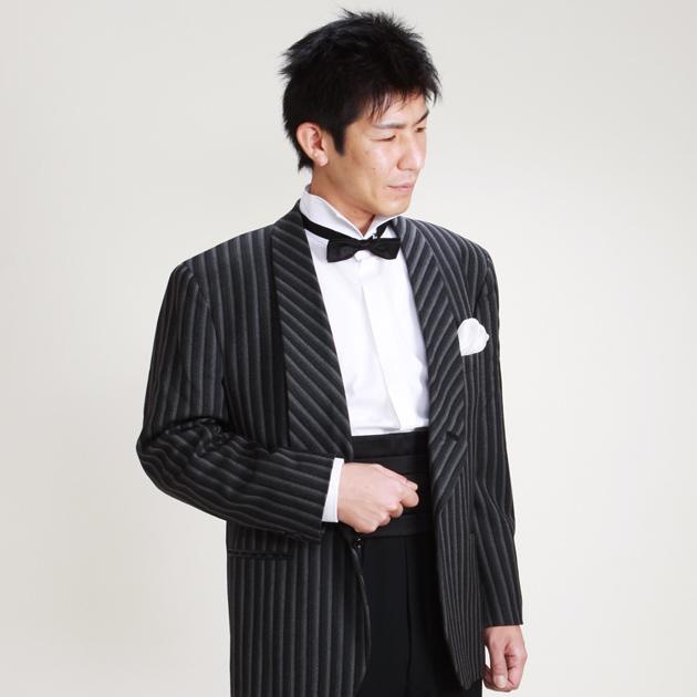 【ショールカラー タキシード レンタル】M・Lサイズ/168cm〜175cm/グレー パーティ 演奏会 201g