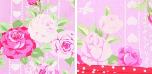 【松田聖子】袴 レンタル 女の子/5〜7歳 七五三着物 7歳 七五三着物7歳 ピンク色/バラ 卒園式 結婚式 ★NT-袴502