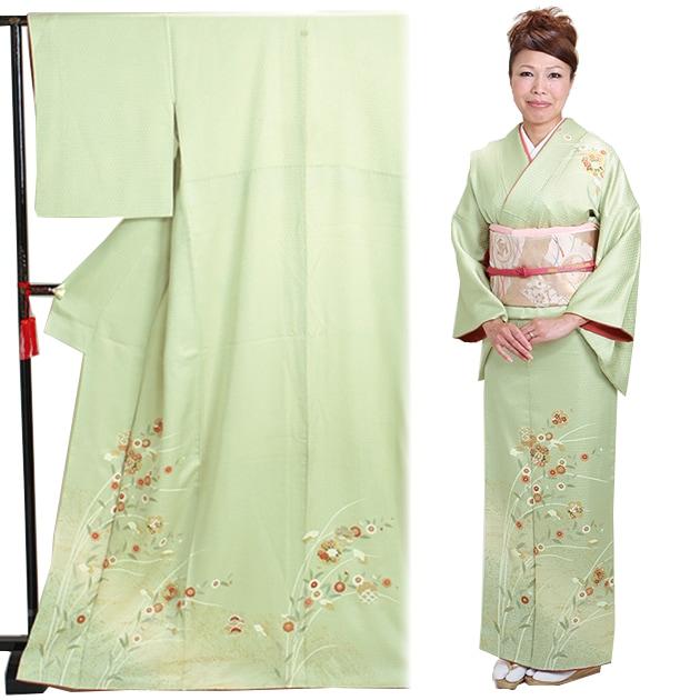 訪問着 レンタル 袷 10月〜5月[〜155cm] お茶会 卒業式 入学式 着物 houmongi29