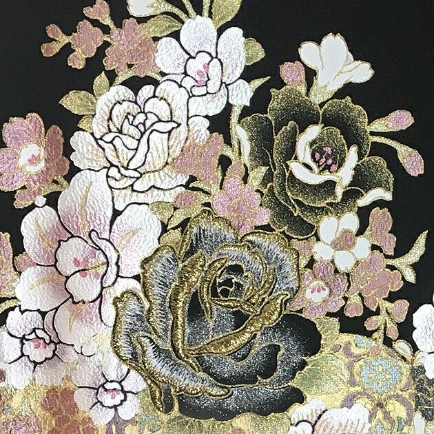 黒留袖 レンタル【桂由美】[トールサイズ:158cm〜170cm] 留袖 レンタル 着物 留め袖 NT-950
