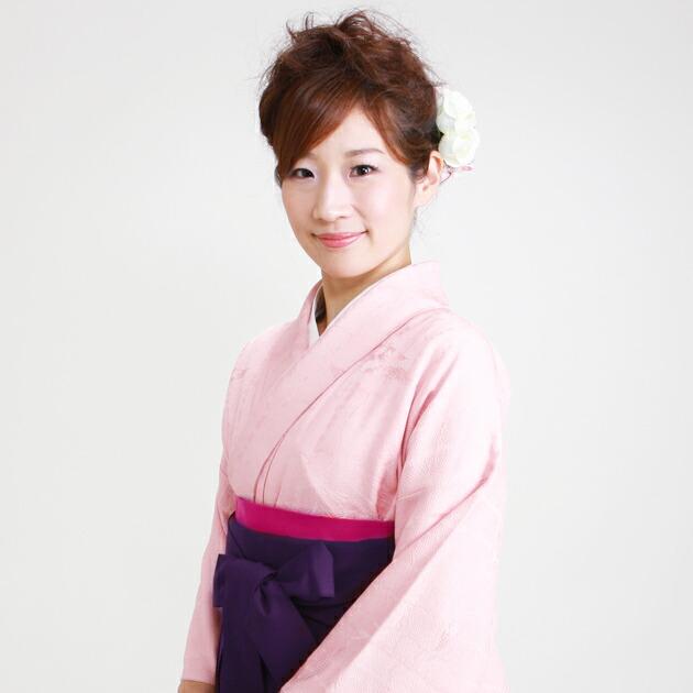 卒業式 袴 レンタル ピンク色 身長〜155cm,7号〜13号 NT-muji35