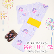 【浴衣 レンタル】レディース 3点セット☆浴衣・帯・下駄☆nt-y001 パープル/丸花