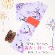 【浴衣 レンタル】レディース 3点セット☆浴衣・帯・下駄☆nt-y002 パープル/蘭