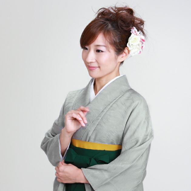 卒業式 袴 レンタル グレー色 身長〜158cm,7号〜13号 NT-muji55