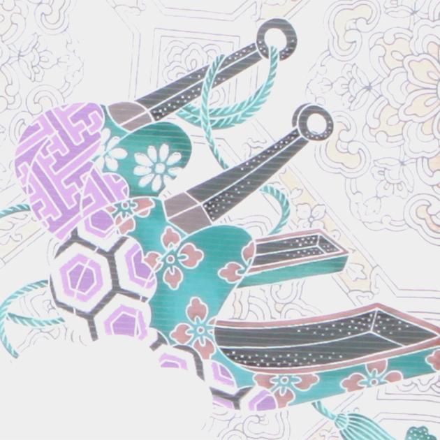 夏用 絽〔お宮参り レンタル 夏物〕黒色/かぶと つづみ ro-124 ふたご 男の子 初着 産着 お宮参りレンタル