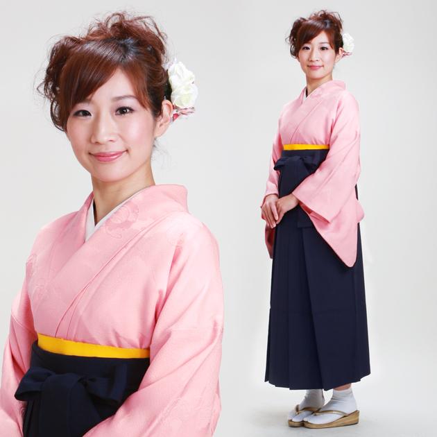 卒業式 袴 レンタル ピンク色 身長〜160cm,7号〜13号 NT-muji57