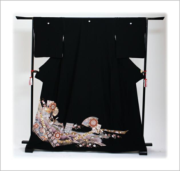 黒留袖 レンタル [標準サイズ:150cm〜163cm] 留袖 レンタル 着物 留め袖 NT-921