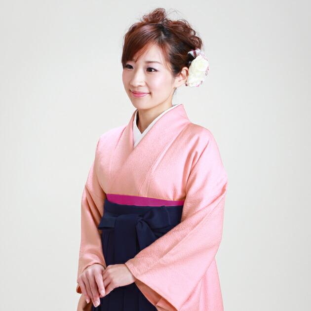 卒業式 袴 レンタル ピンク色 身長〜170cm,7号〜13号 NT-muji65