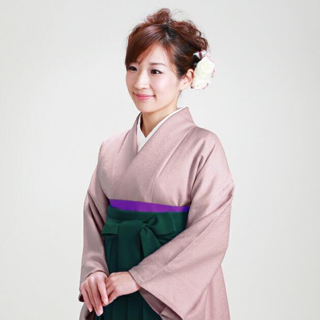卒業式 袴 レンタル うす紫色 身長〜160cm,7号〜13号 NT-muji66