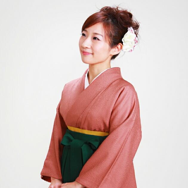 卒業式 袴 レンタル レンガ色 身長〜158cm,7号〜13号 NT-muji69