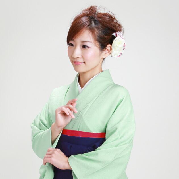 卒業式 袴 レンタル 若草色 身長〜160cm,7号〜13号 NT-muji71