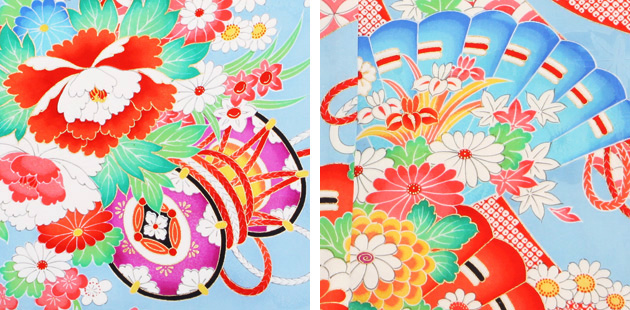 袴 レンタル 女の子/5〜7歳 七五三着物 7歳 七五三着物7歳 水色/つづみ 卒園式 結婚式 NT-袴ラ