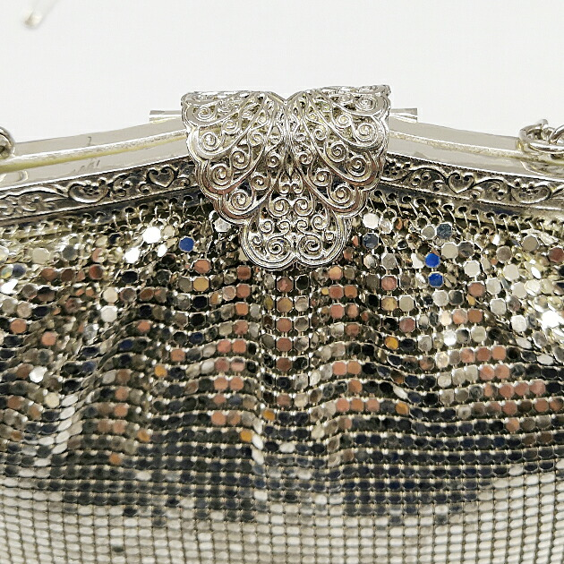 パーティーバッグ レンタル シルバー 銀 結婚式 フォーマル パーティー bo20-002