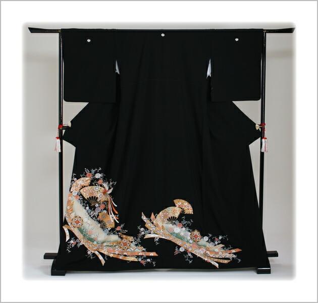 黒留袖 レンタル [標準サイズ:150cm〜165cm] 留袖 レンタル 着物 留め袖 NT-919