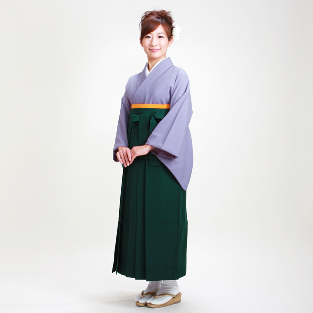 卒業式 袴 レンタル うす紫色 身長〜160cm,7号〜13号 NT-muji91