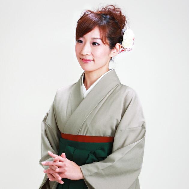 卒業式 袴 レンタル 薄グレー色 身長〜160cm,7号〜13号 NT-muji93