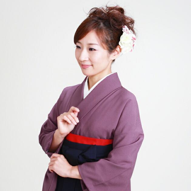 卒業式 袴 レンタル 紫色 身長〜160cm,7号〜13号 NT-muji94