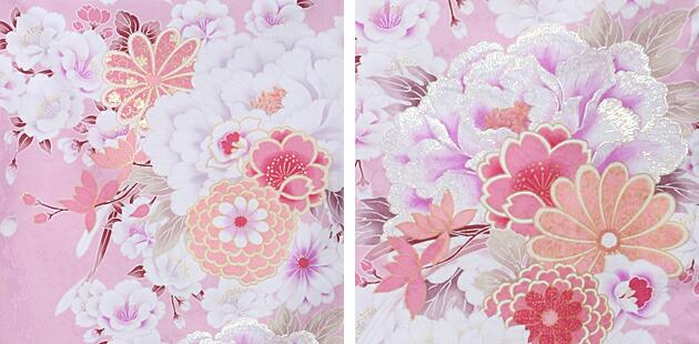 卒業式 袴 レンタル ピンク色 花柄 身長〜170cm,7号〜13号 NT-301
