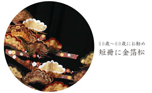 黒留袖 レンタル [標準サイズ:150cm〜165cm] 留袖 レンタル 着物 留め袖 NT-831