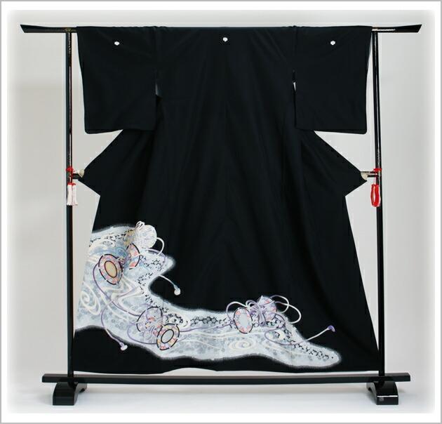 黒留袖 レンタル [小柄な方:〜153cm] 留袖 レンタル 着物 留め袖 NT-719