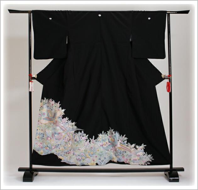 黒留袖 レンタル [小柄な方:〜153cm] 留袖 レンタル 着物 留め袖 NT-732