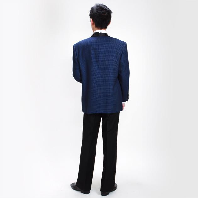 【タキシード レンタル】L・XLサイズ/175cm〜185cm/紺 パーティ 演奏会 455
