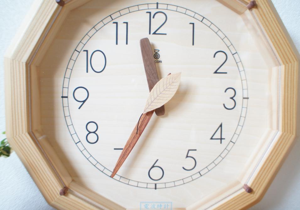 森の電葉時計(12角形)