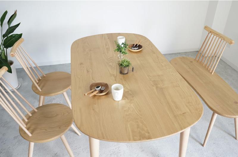kinoe ダイニングテーブル 151,800~173,800円