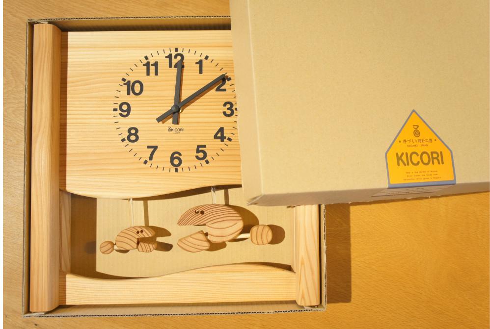 さかなの親子の時計
