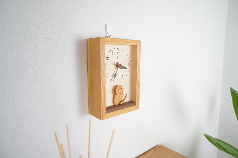 仔猫の時計