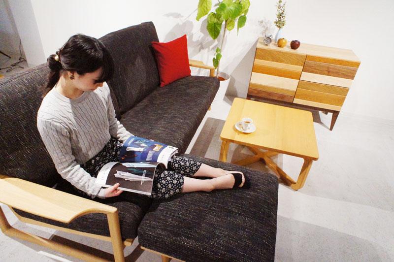 geppo 210cm(3.5P) ソファ 【332,200円~623,480円(税込)】
