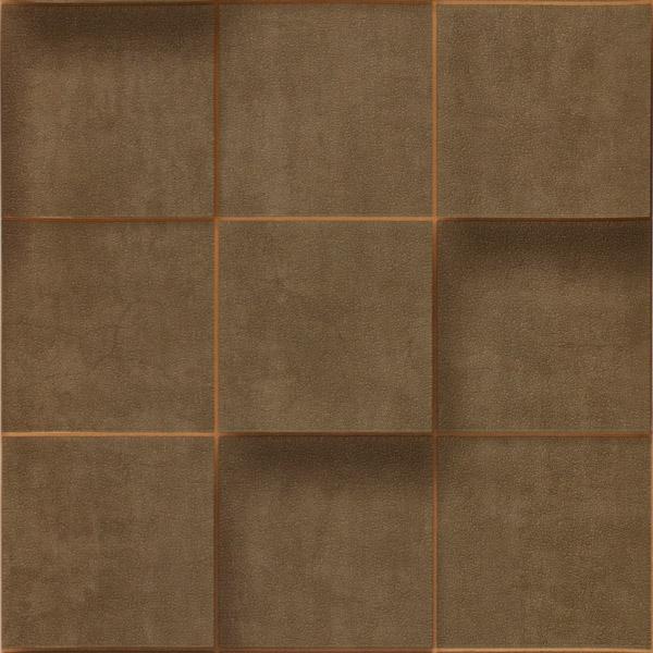壁紙 3Dクロス タイル柄 エンボス加工 53cm×10m [NWPS200C]
