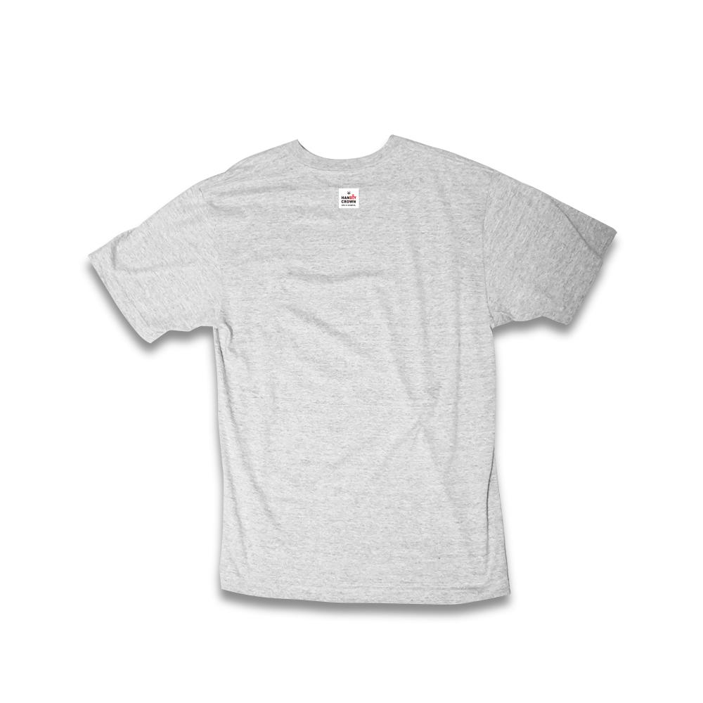 Tシャツ 大人用 ミックスグレー
