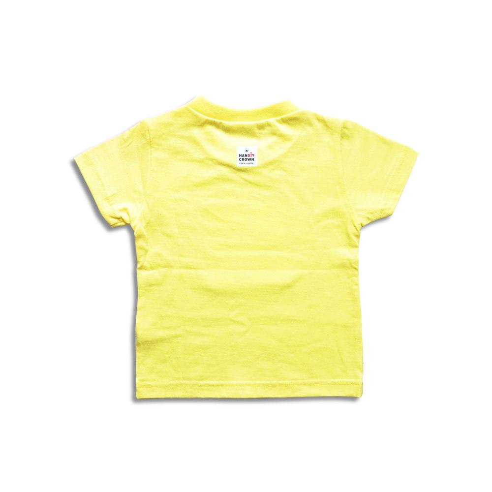 Tシャツ 子供用 ライトイエロー