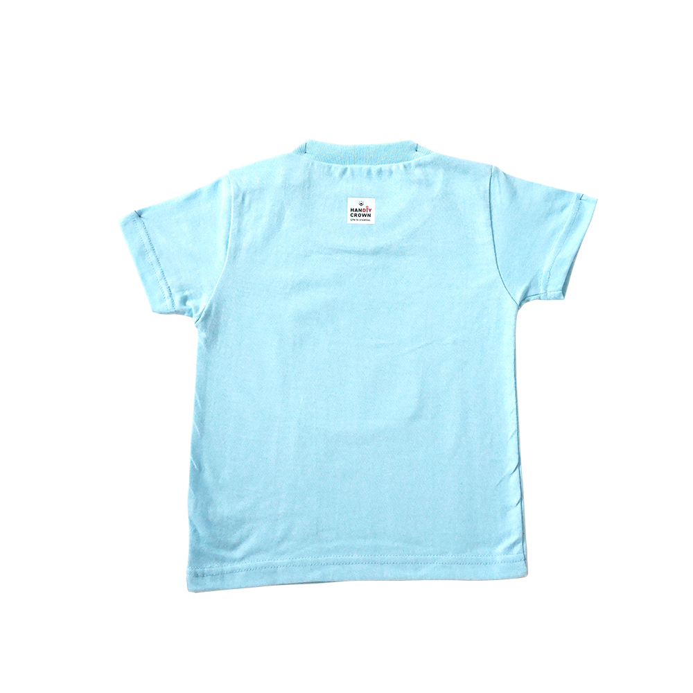Tシャツ 子供用 ライトブルー
