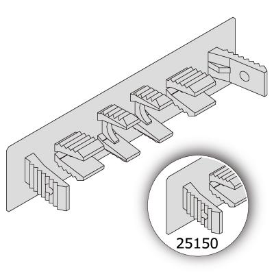 エンドキャップ  単品(5種×4色)
