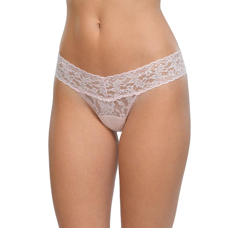3パック ロー ライズ タンガ イン ロゴ ボックス (ブリスピンク / ブラック / ブリスピンク・ブラック)