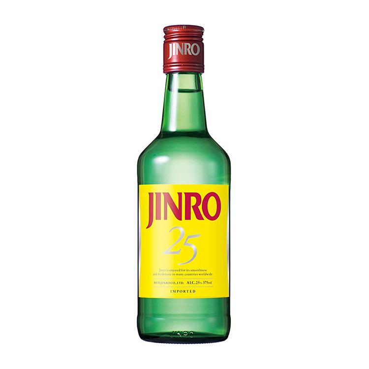 JINRO(眞露)焼酎 375ml ALC.25%