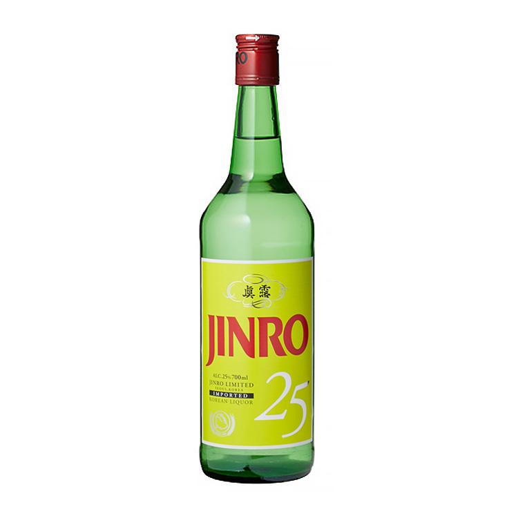 JINRO(眞露)焼酎 700ml ALC.25%
