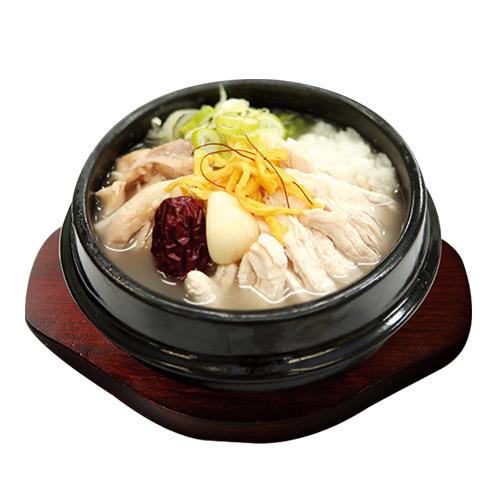 ★【ソウル市場の自社製】業務用参鶏湯950g