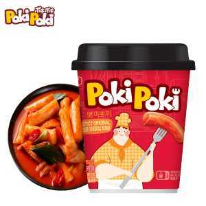 ポキポキスパイシー/甘辛カップトッポギ120g